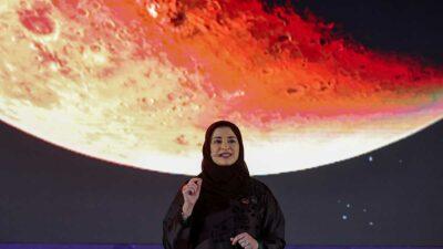 """Sonda """"Esperanza"""", de Emiratos Árabes, manda su primera imagen de Marte"""