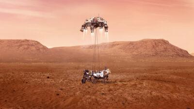 Dónde y a qué hora ver el aterrizaje del Perseverance en Marte