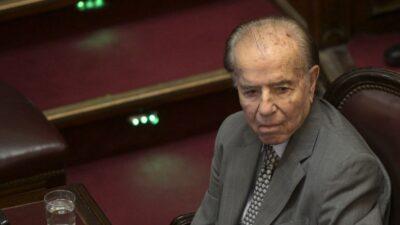 Carlos Menem, expresidente de argentina, fallece a los 90 años