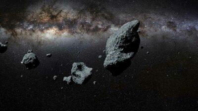 Meteoritos lunares serán subastados por casa Christies