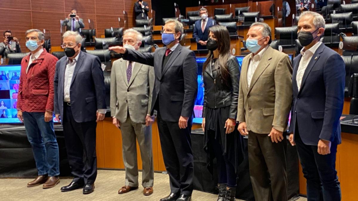 Esteban Moctezuma rinde protesta como embajador de México en EU