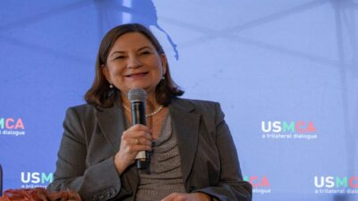 Martha Barcena se despide como embajadora de México en EU