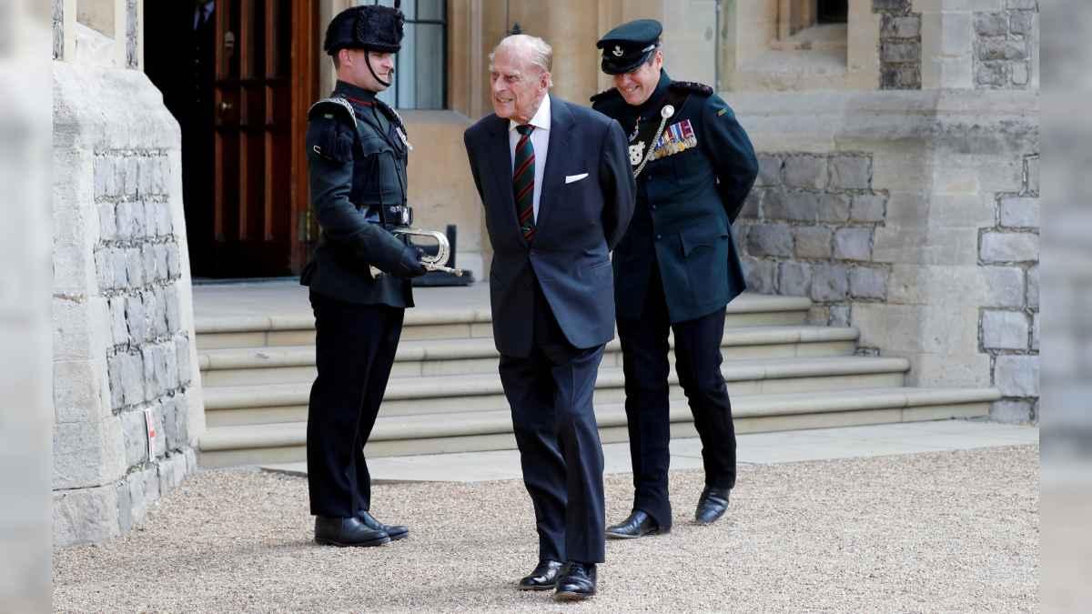 Felipe Edimburgo reina Isabel II