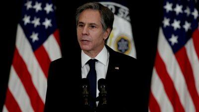 Antony Blinken Estado México