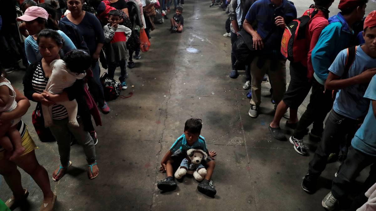 Guatemala migrantes Centroamérica