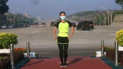 Birmania aerobics