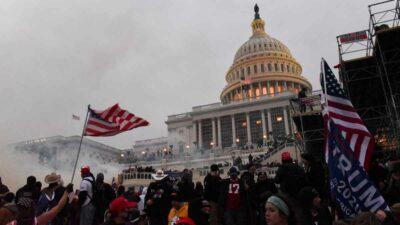 Capitolio videos inéditos Donald Trump