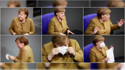 Angela Merkel cubrebocas