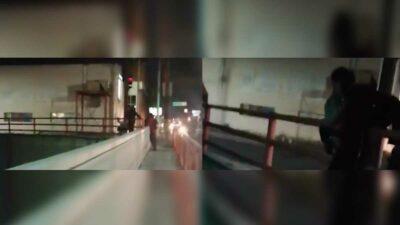 Guardia Nacional rescata a joven en Nuevo León; iba a lanzarse de puente