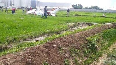 Sinaloa: Se desploma avioneta en Navolato; hay 3 muertos