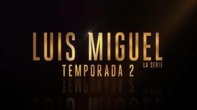 Lanzan fecha de estreno de la segunda temporada de la serie de Luis Miguel