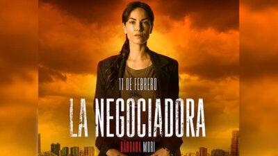 """Bárbara Mori se estrena como """"La Negociadora"""" en Claro Video"""