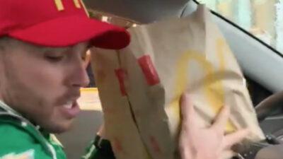 piloto nascar comida rápida