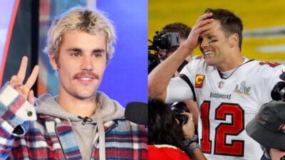 Ton Brady le contesta a Justin Bieber