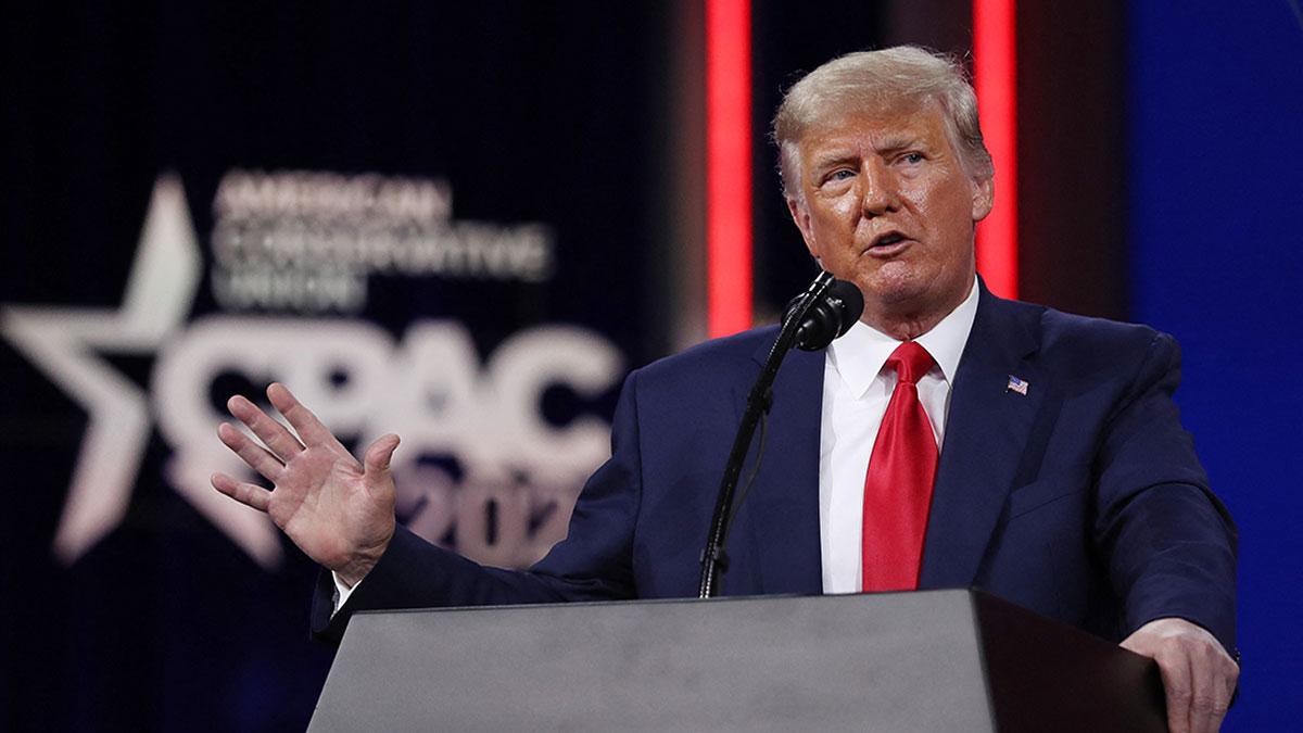 Trump reaparece en Estados Unidos y da su primer mensaje tras salir de la Casa Blanca
