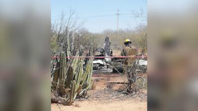 Sonora: se desploma avioneta; reportan al menos 4 muertos