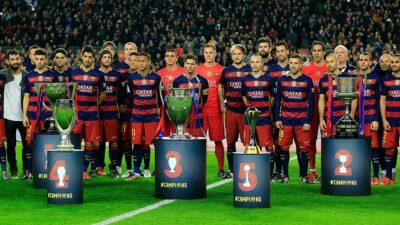 Barcelona Equipo De La Decada