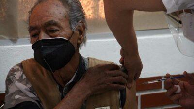 Vacunación contra COVID-19 en asilos de Xochimilco, Tláhuac e Iztacalco
