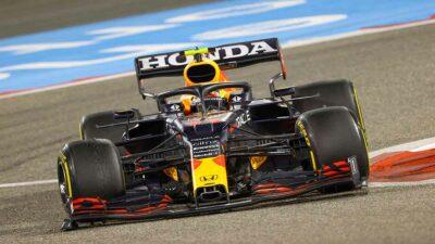Eligen a Checo piloto del día, tras su debut con Red Bull en F1