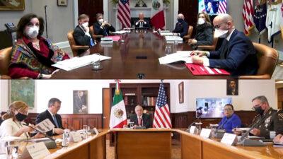 reunión de AMLO y Biden
