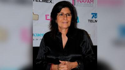 Raquel Olmedo ya no está intubada, revela Susana Zabaleta