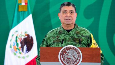 Luis Cresencio Sandoval, titular de Sedena, da negativo a COVID-19