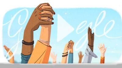 Dia De La Mijer Doodle Google