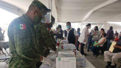 Vacunación COVID-19 en Edomex: Militares aplican dosis en municipios