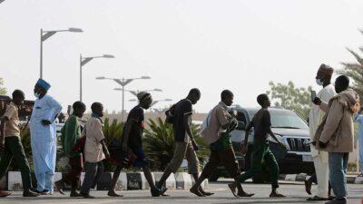 Las tropas del ejército de Nigeria pudieron intervenir rápidamente y enfrentarse a los criminales. Foto: Reuters