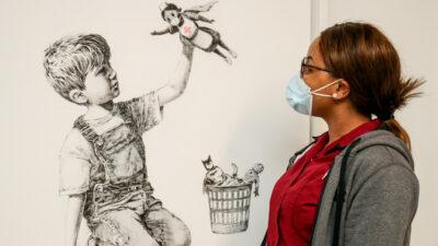 Obra de Banksy se vende en más de 23 millones de dólares