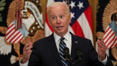Joe Biden, presidente de EU, dio su primera conferencia de prensa. Foto: Reuters