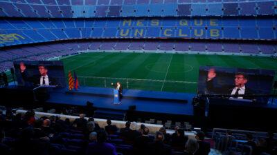Joan Laporta asume la presidencia del Barcelona