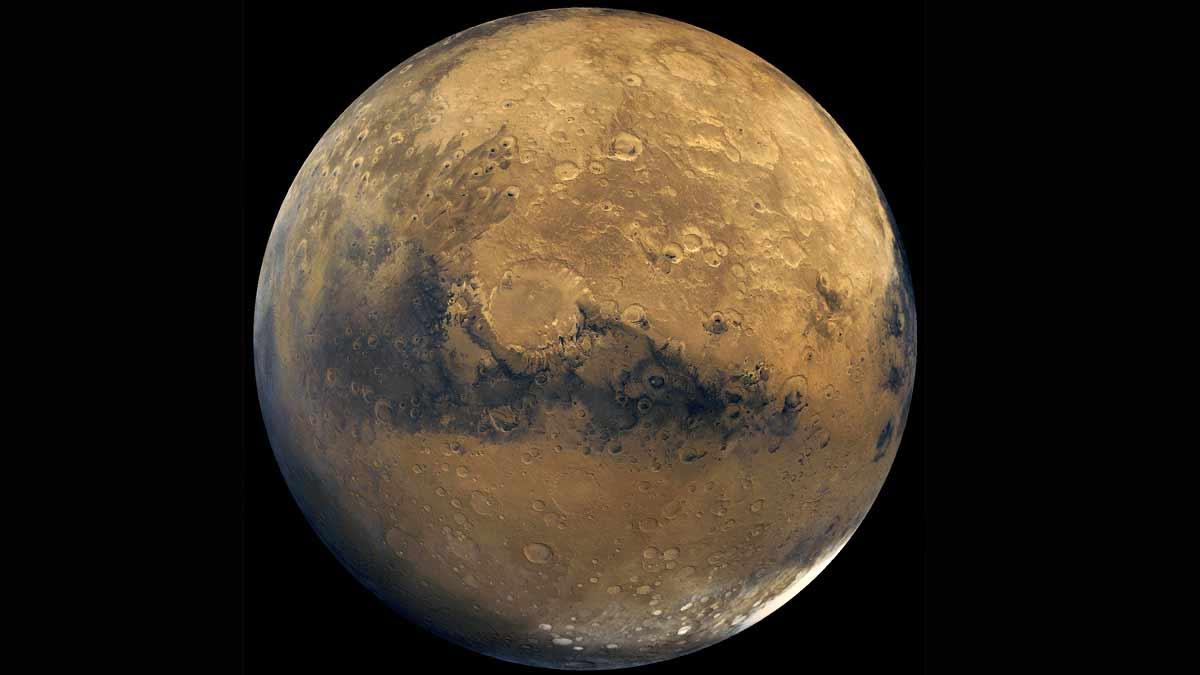 Marte agua