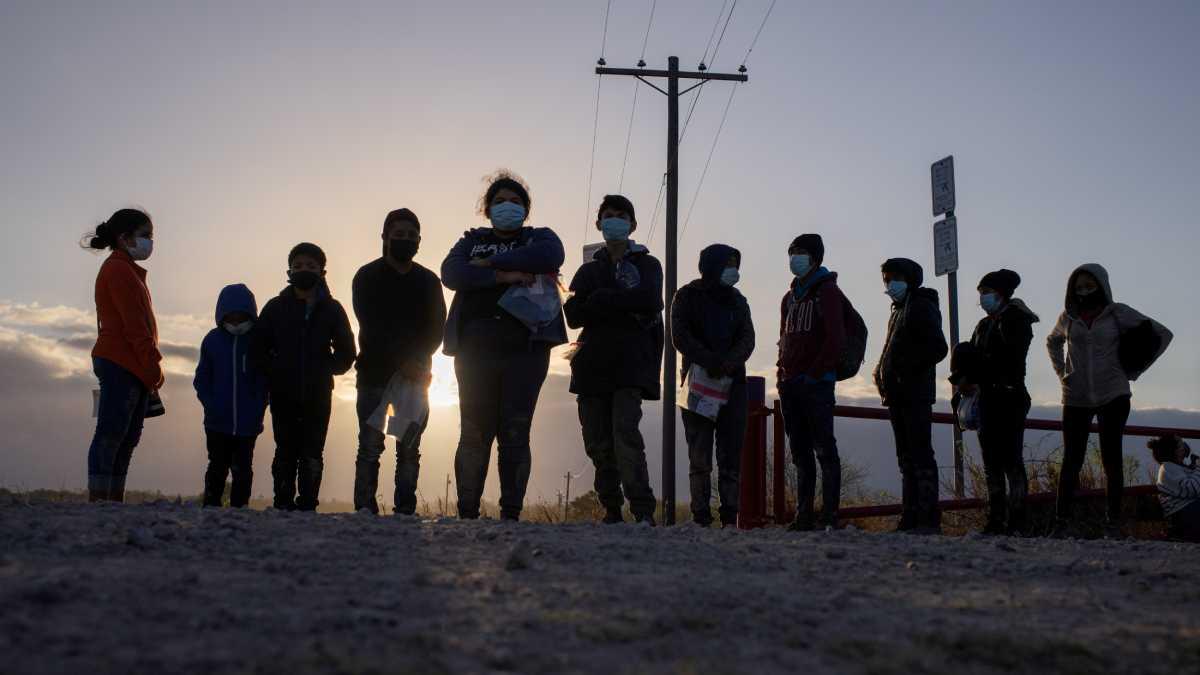 Estados Unidos migrantes frontera