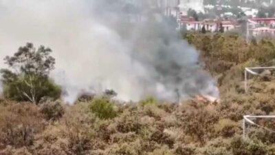 Fuentes Pedregal Tlalpan incendio