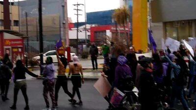 Día Mujer feministas Monterrey