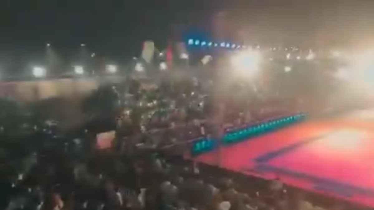 India gradas estadio