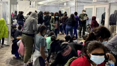 Niños migrantes Texas