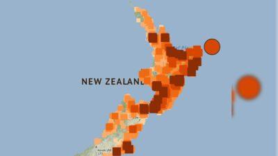 Nueva Zelanda terremotos