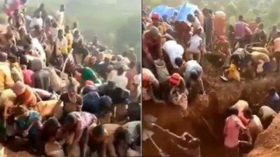 Congo: Hallan montaña de oro en África