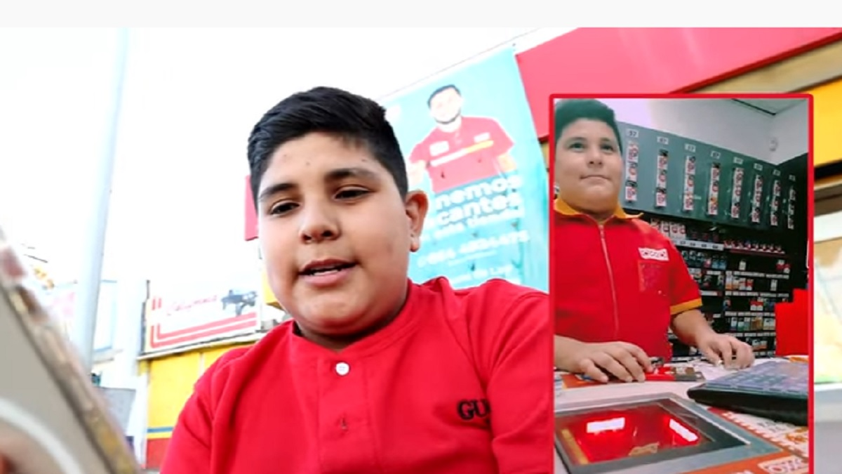 Reaparece niño viral del Oxxo; revela la verdad de su video