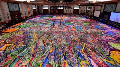 pintura más grande del mundo