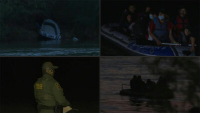 VIDEO: la peligrosa ruta por el Río Bravo que migrantes hacen para llegar a EU