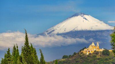 Volcán Popocatépetl: ¿Cómo se forman los domos?