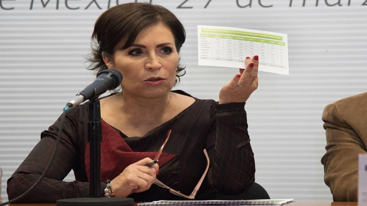 Rosario Robles solicita hablar con un superior jerárquico de FGR