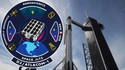 spaceX satélite mexicano