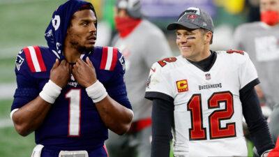 Tom Brady firma con los Bucaneros y Cam Newton se queda con los Patriotas
