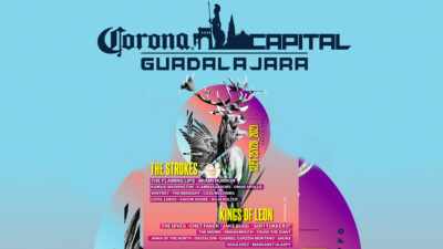 Filtran supuesto cartel del Corona Capital Guadalajara 2021