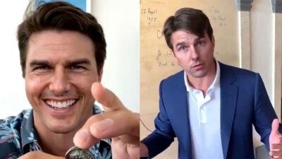Los videos virales de Tom Cruise que son falsos
