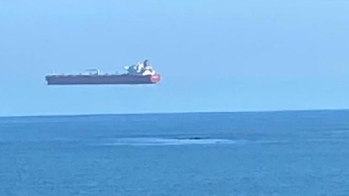 """El extraño caso del """"barco volador"""" en Reino Unido - Uno TV"""